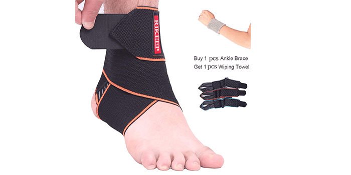 Adjustable Ankle Braces by Candy Li