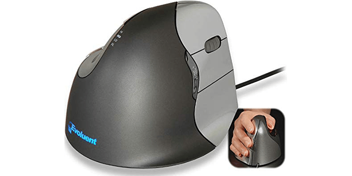 Evoluent Ergonomic Vertical Mouse for Right Handed