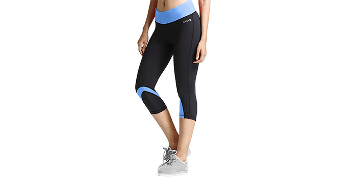 Women's Workout Yoga Capri Leggings by Baleaf