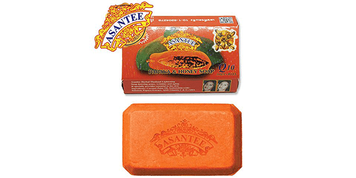 Asantee Papaya and Honey Skin Whitening Facial Soap