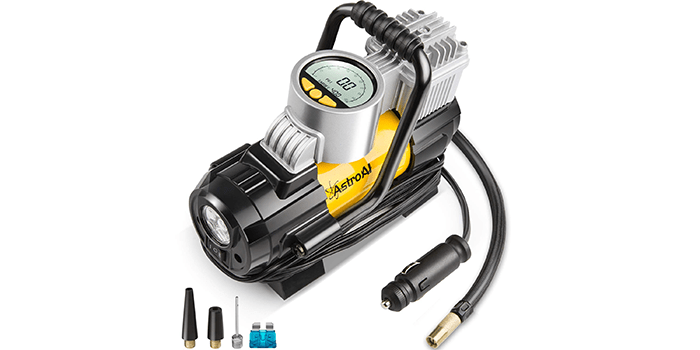 AstroAI 12V DC Portable Air Compressor Pump