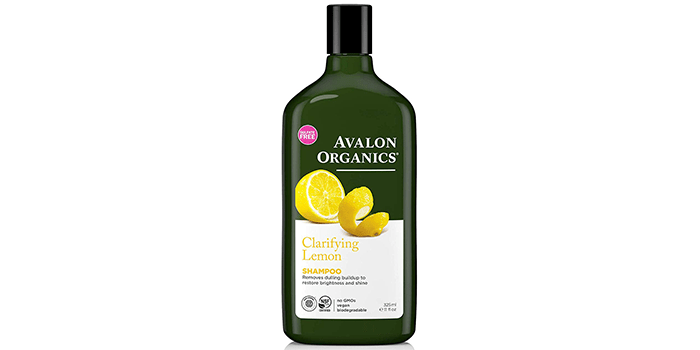 Avalon Organics Clarifying Lemon Shampoo