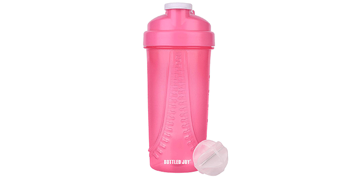 BOTTLED JOY Protein Shaker Bottle
