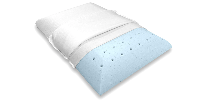Bluewave Bedding UltraSlim Gel-Infused Pillow