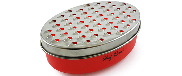 Chef Remi Cheese Grater with Airtight Storage Container