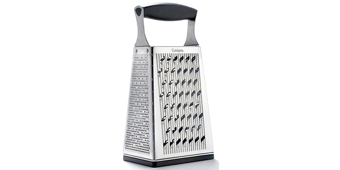 Cuisipro Surface Glide Technology 4-Sided Box Grater
