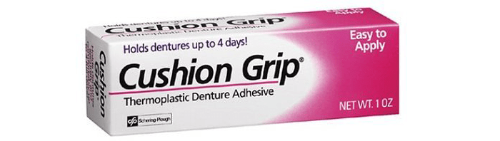 Cushion Grip Thermoplastic Denture Adhesive