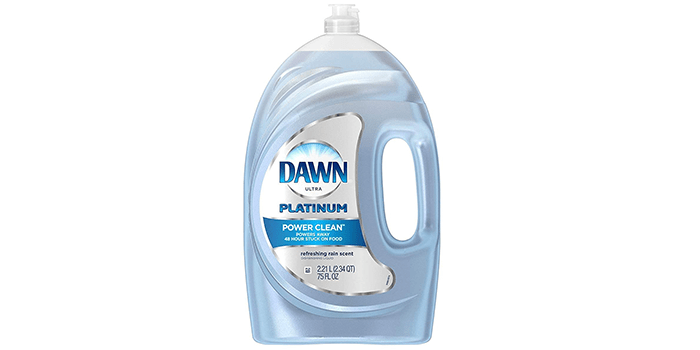 Dawn Platinum Refreshing Rain Scent