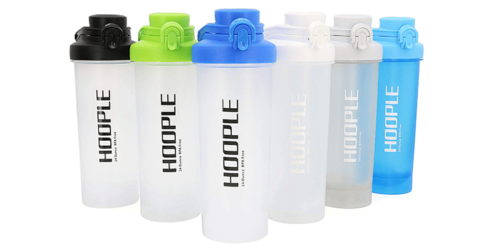 Hoople Protein Shaker Bottle