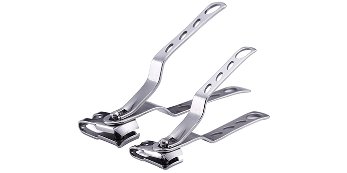 Keiby Citom Nail Clippers with 360-Degree Rotating Head