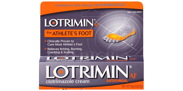 Lotrimin AF Antifungal Cream for Athlete's Foot