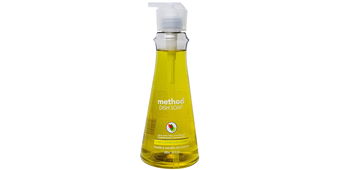 Method Dish Soap Pump Lemon Mint