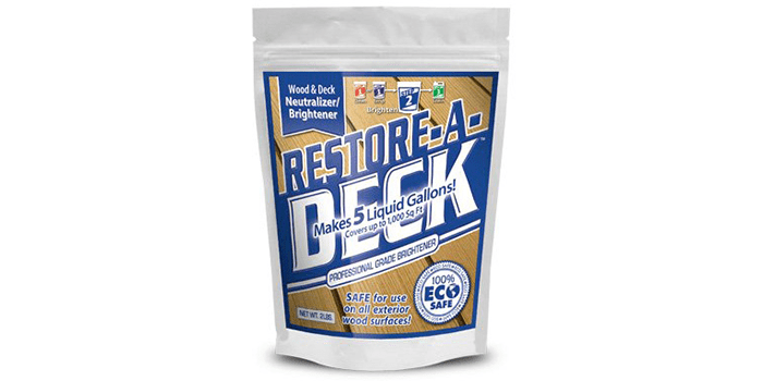 Restore-A-Deck Wood Brightener