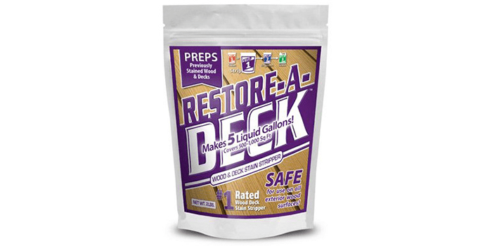 Restore-A-Deck Wood Stain Stripper