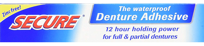 Secure Denture Bonding Cream by Dentex