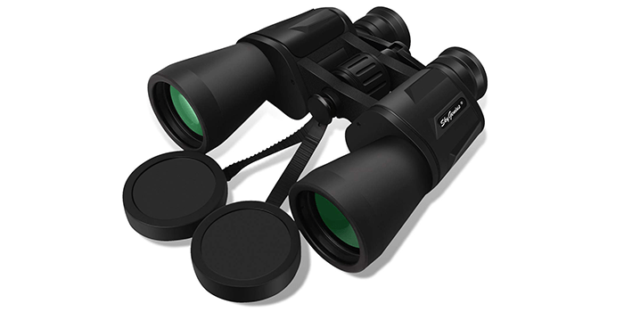 SkyGenius 10 x 50 Powerful Full-Size Binoculars