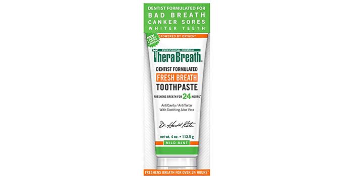 TheraBreath – Fresh Breath Toothpaste