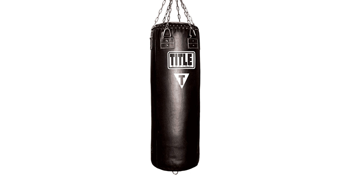 Title Leather-Classic Heavy-Bag 150 LBS