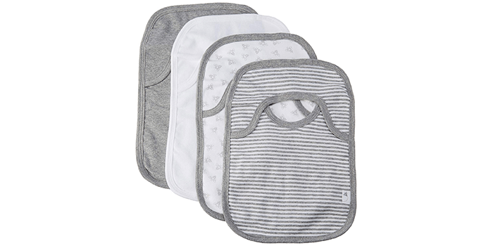 Burt's Bees Baby - Bee Essentials Lap Shoulder Bibs