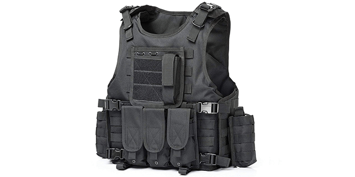 Invenko Police Training Tactical Airsoft Military Vest