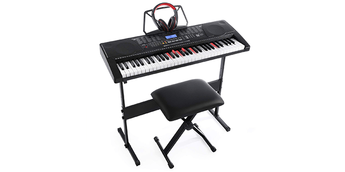 Joy KL-91M Lighted Keys Simulation Piano Keyboard