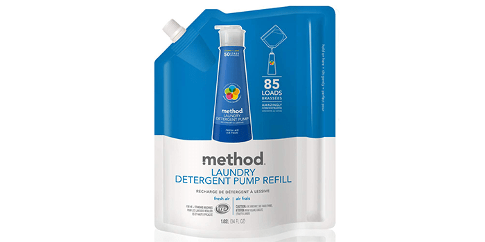 Method Laundry Detergent Refill for Pump Bottles