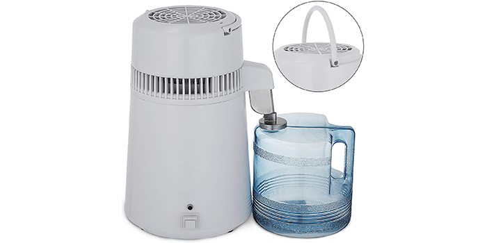 Mophorn 4L Countertop Water Distillation Purifier