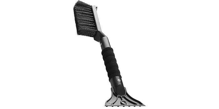OxGord Ice Scraper for Car with Snow Brush