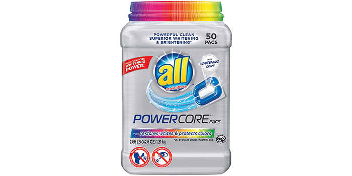 Powercore Pacs Laundry Detergent Plus