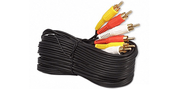 RCA M Mx3 Audio Video Cable Gold Plated – Audio Video RCA Cable