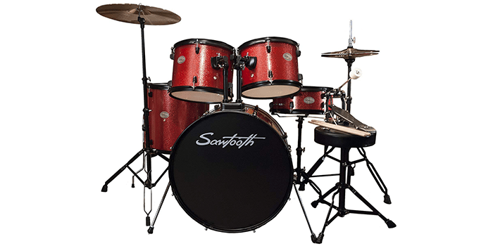 Rise by Sawtooth Full-Size Student Drum Set