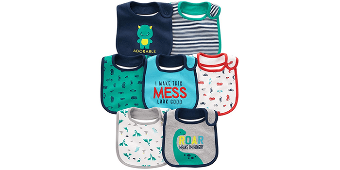 Simple Joys by Carter's Baby Boys' Teething Bibs