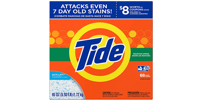 Tide Mountain Spring HE Turbo Powder Laundry Detergent