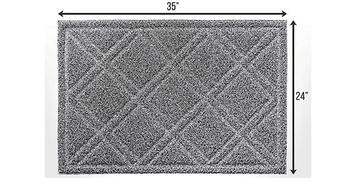 BrigHaus Large Indoor Outdoor Doormat