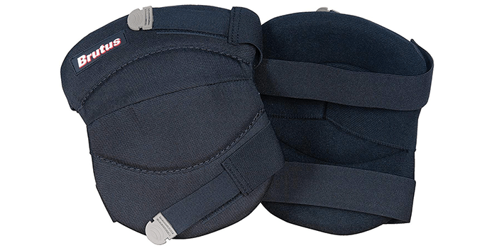 Brutus 79637BR Contour Washable Knee Pads