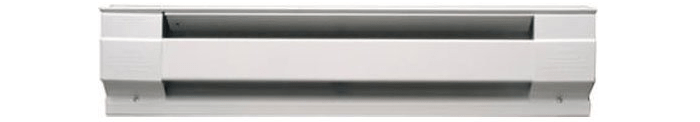 Cadet Manufacturing White Baseboard Hardwire Electric Zone Heater