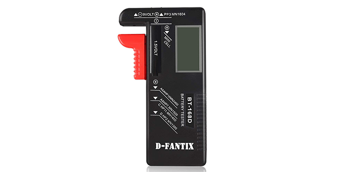 D-FantiX Digital Battery Tester