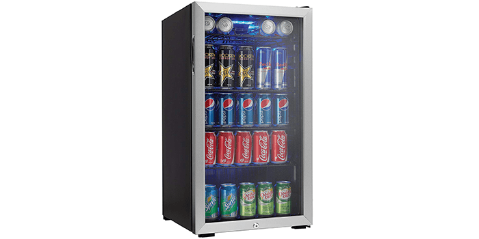 Danby 120 Can Beverage Center DBC120BLS