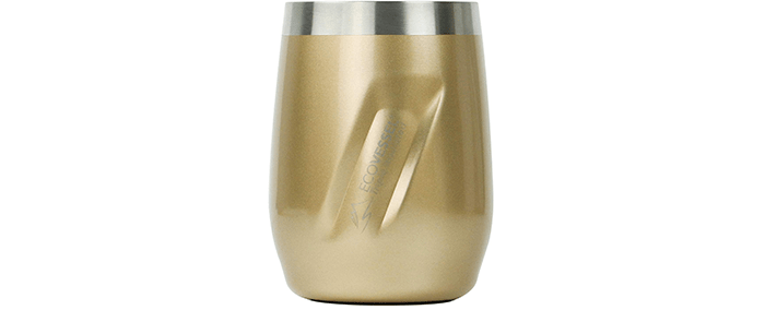 EcoVessel Port Vacuum Insulated Stainless Steel Wine Glass