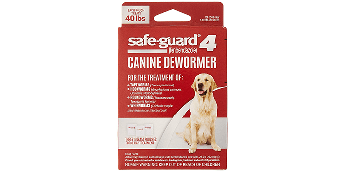 Excel 8-in-1 Safe-Guard Canine Dewormer for Dogs