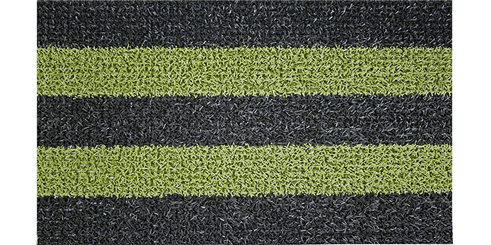 GrassWorx Clean Machine Patio Stripe Doormat