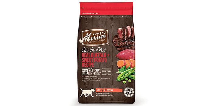 Merrick Grain Free Real Buffalo & Sweet Potato