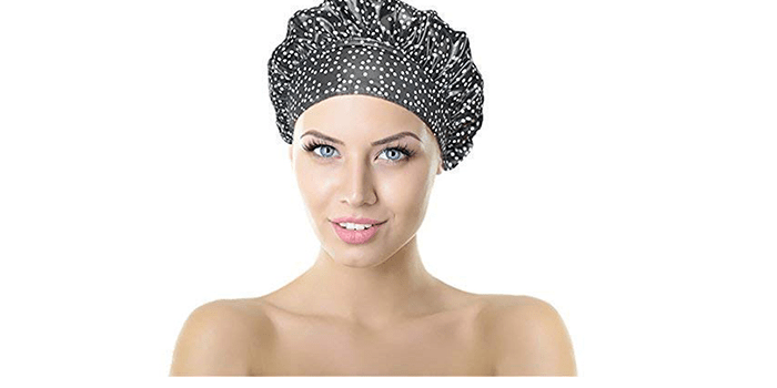No Pinch TIARA Shower Cap