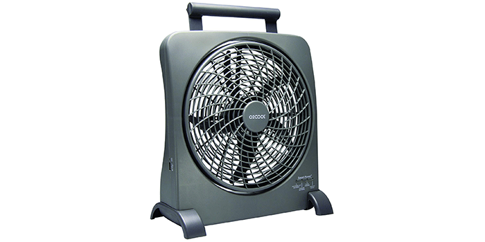 "O2COOl 10"" Battery Operated Fan"