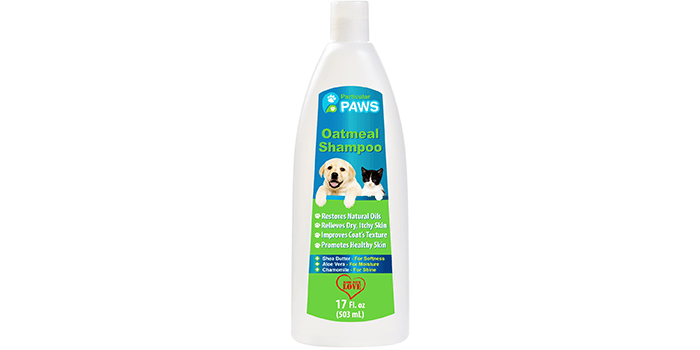 Particular Paws Oatmeal Shampoo for Dogs and Cats