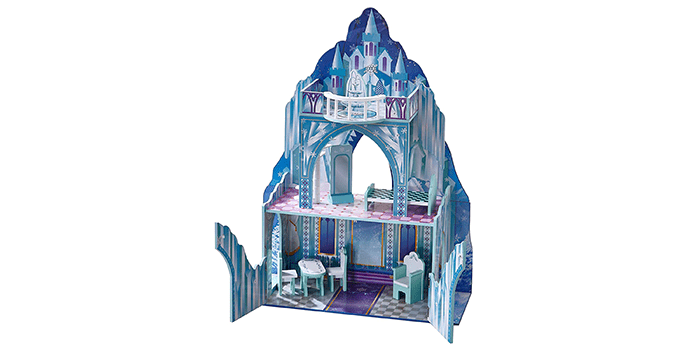 Teamson Kids – Ice Castle Wooden Doll Houses