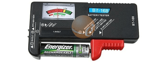 The Battery Tester by eForCity