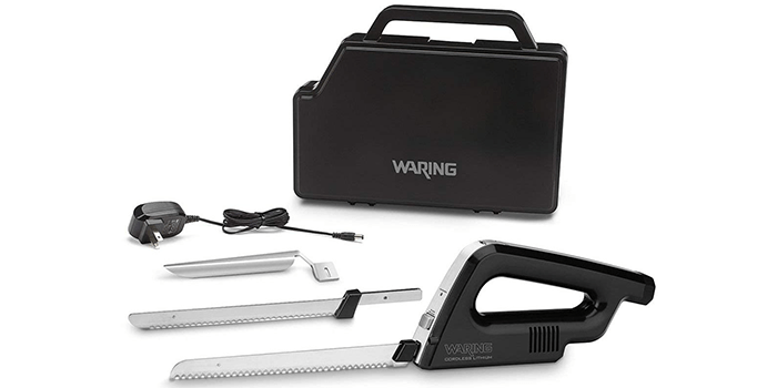 Waring Commercial WEK200 Rechargeable Cordless Electric Knife