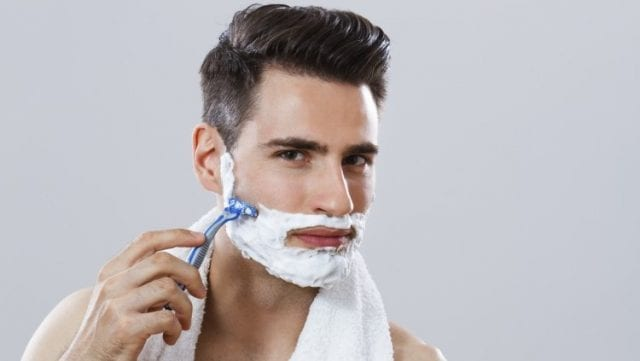 Image result for men's shaving