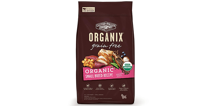 Castor & Pollux Organix Grain Free Dog Food